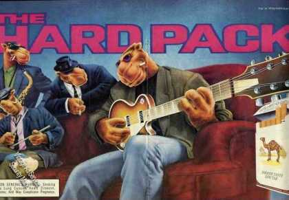 "Joe Camel Music Group ""The Hardpack"" Large (1991)"