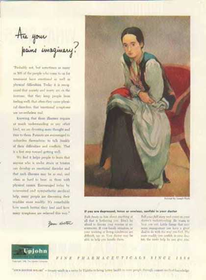 Upjohn Company – Pharmaceuticals Since 1886 (1948)