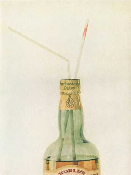 Ambassador Scotch Bottle (1962)