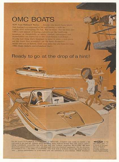 OMC Boats 17 Deluxe and Custom Boat (1963)