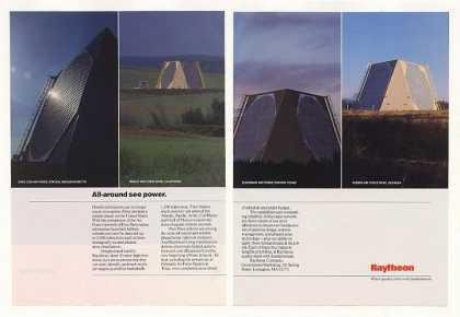 Raytheon Air Force Pave Paws Radar Network (1987)