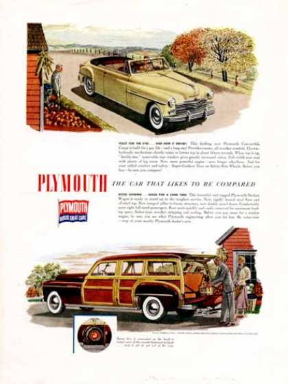 Plymouth Woody & Convertible (1949)