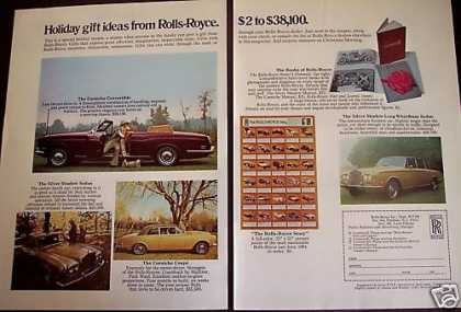 Rolls Royce Holiday Gift Ideas 2p Car (1972)