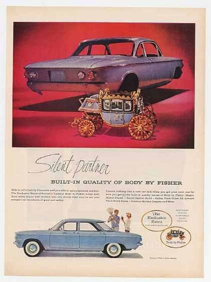 Chevy Corvair 700 4-Door Sedan Body by Fisher (1960)
