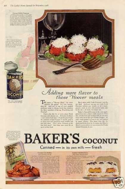 Baker&#8217;s Coconut (1918)