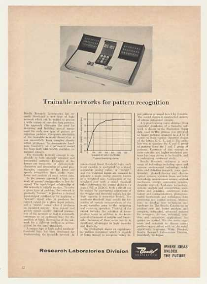 Bendix Research Experimental Pattern Recognizer (1965)