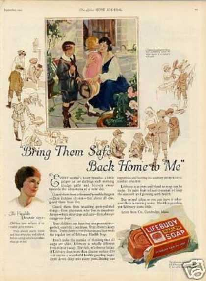 Lifebuoy Soap Color (1923)