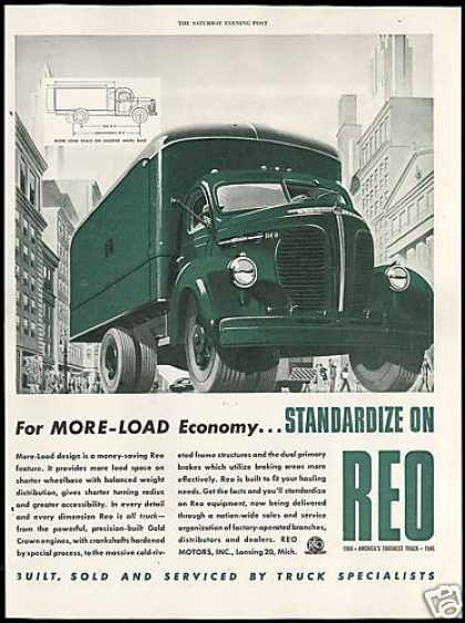 Reo Motors America's Toughest Truck (1946)