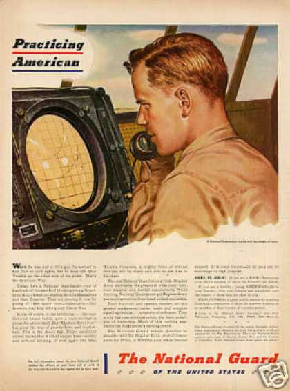The National Guard Ad Guardsman (1947)