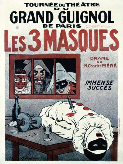Theatre de Grand Guignol, Les 3 Masques