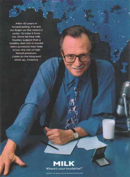 Larry King – GOT MILK? (1997)