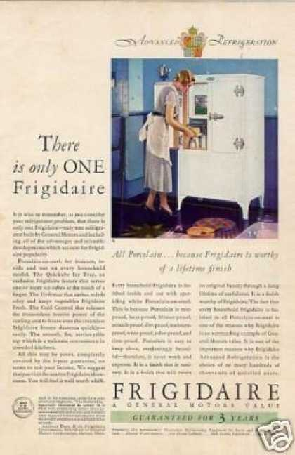 Household ads of the 1930s