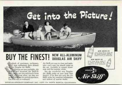 Douglas All-aluminum Air Skiff Santa Monica Ca (1949)