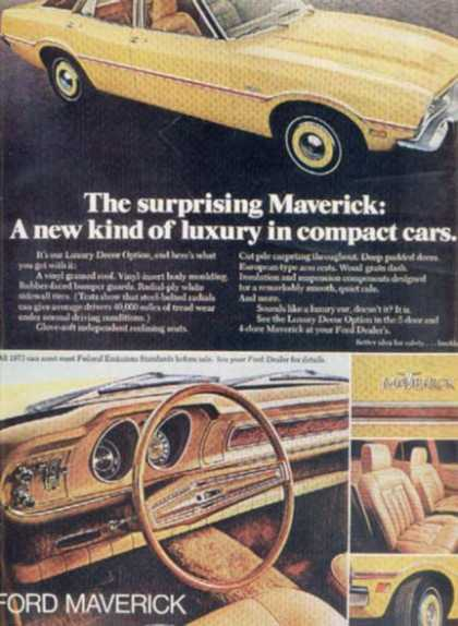 Ford's Maverick (1972)
