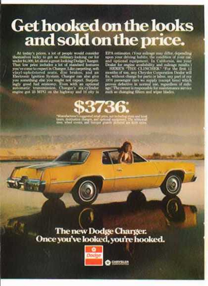 Dodge Car – Dodge Charger / Gold (1976)