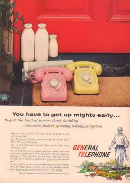 General Telephone – Phones and Milk at Your Door – Sold (1958)