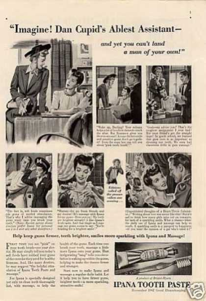 "Ipana Tooth Paste Ad ""Imagine... (1942)"