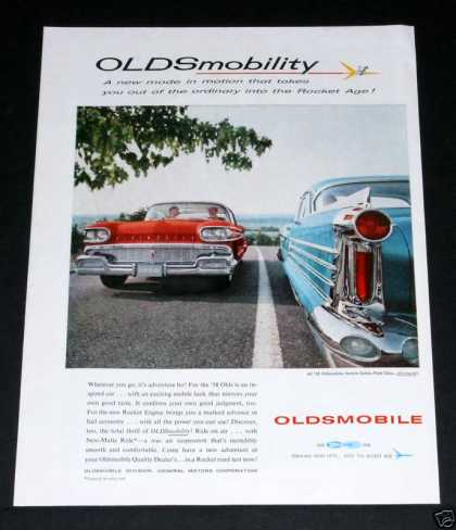 Oldsmobile Into the Rocket Age (1958)