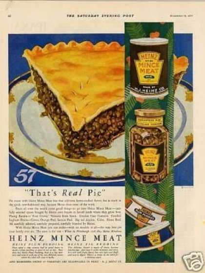 Heinz Mince Meat Color (1927)