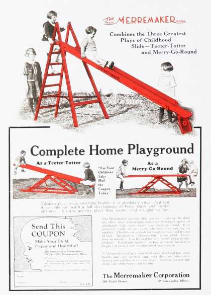 Merremaker Corporation Complete Home Playground