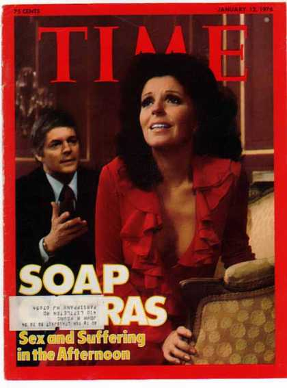 Days of Our Lives Time Cover Page – Doug & Julie (1976)