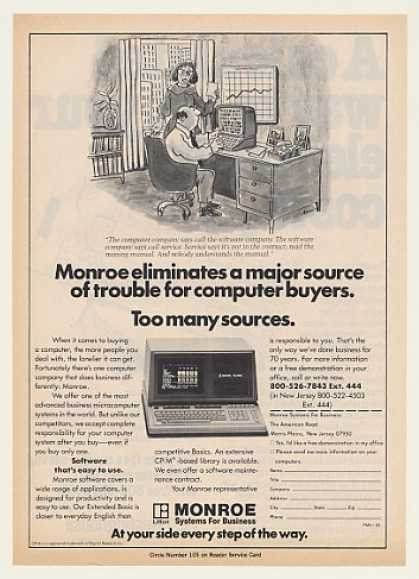 Monroe OC 8820 Computer (1983)