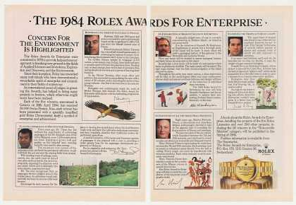 Rolex Awards for Enterprise 2-Page (1984)