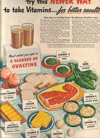 Ovaltine's Milk Supplement (1945)