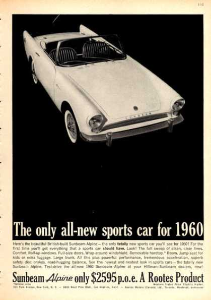 Rootes Sunbeam Alpine Sports Car (1960)