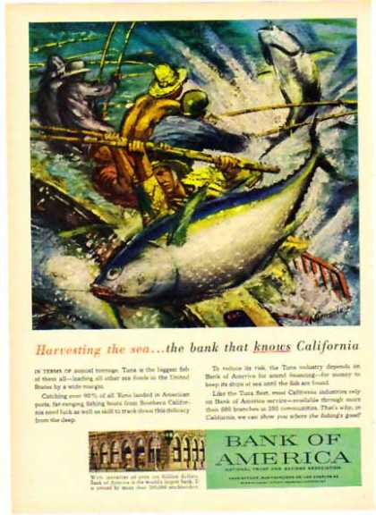 Bank of America – Harvesting the Sea… – Sold (1958)