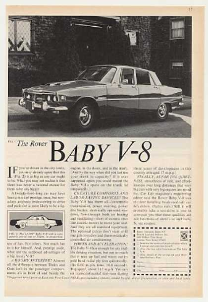 Rover Baby V-8 Car Photo Vintage (1970)