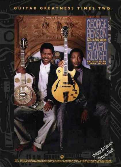 George Benson & Earl Klugh Photo Music Promo (1987)