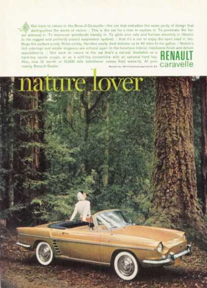 Renault Caravelle Convertible Nature Lovr (1961)