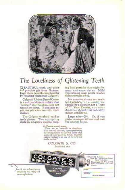 Colgate Ribbon Dental Cream – Toothpaste – Sold (1924)