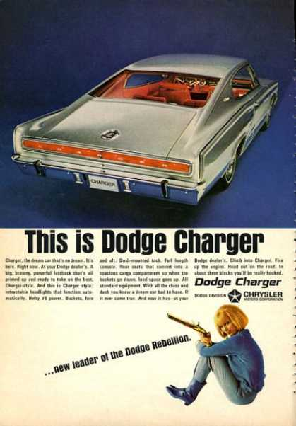 Dodge Charger Muscle Car (1966)