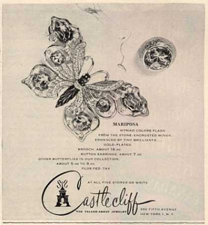 Van Cleef & Arpels Butterflies Diamond (1953)