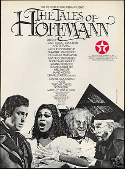 MET Opera The Tales Of Hoffman PBS Texaco (1988)