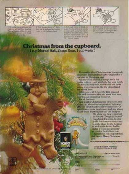 Morton Salt – Christmas Ornaments (1975)