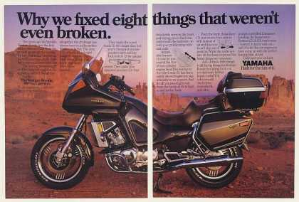 Yamaha Venture Royale Motorcycle Fixed 8 Things (1985)