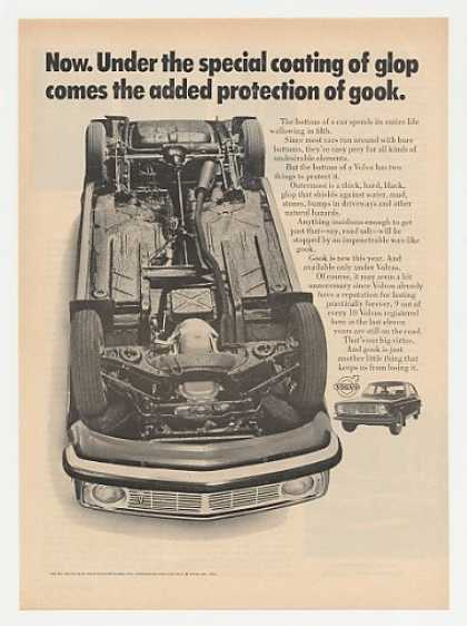 Volvo Bottom Coating of Glop and Gook (1969)