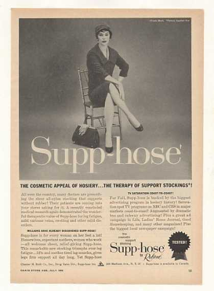 Supp-hose Nylon Stocking Lady (1958)