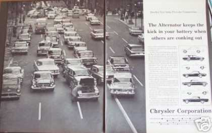 City Street Photo 2pg Chrysler Car (1962)