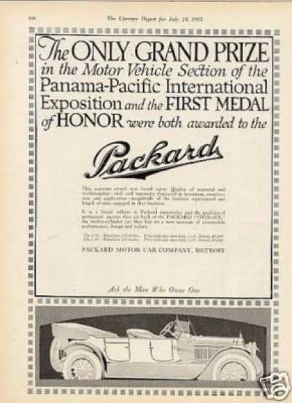 Packard Car (1915)