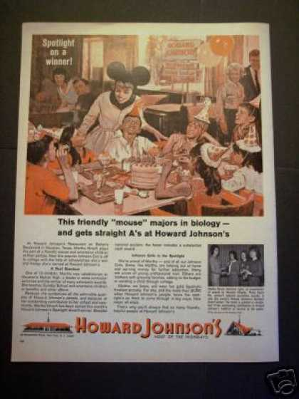 Original Howard Johnson's Restaurant Art (1964)