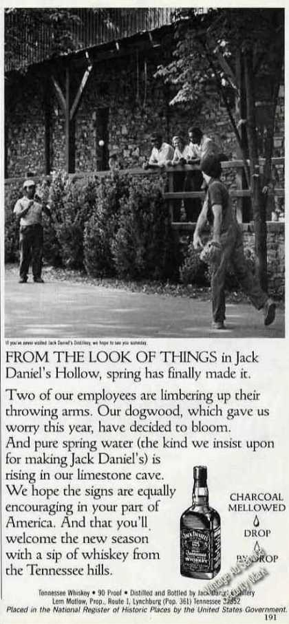 Spring Comes To Jack Daniels Hollow Photo (1985)