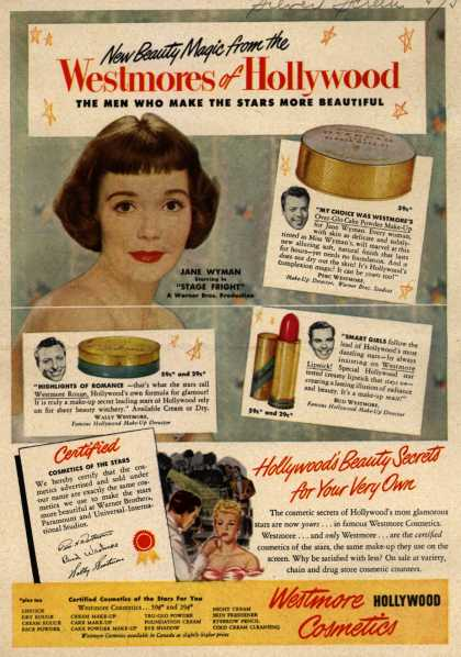 Westmore Cosmetic's Various – Westmore of Hollywood (1950)