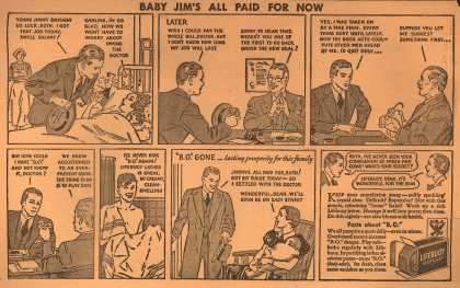 Lever Brothers Company's Lifebuoy Health Soap – Baby Jim's All Paid For Now (1934)