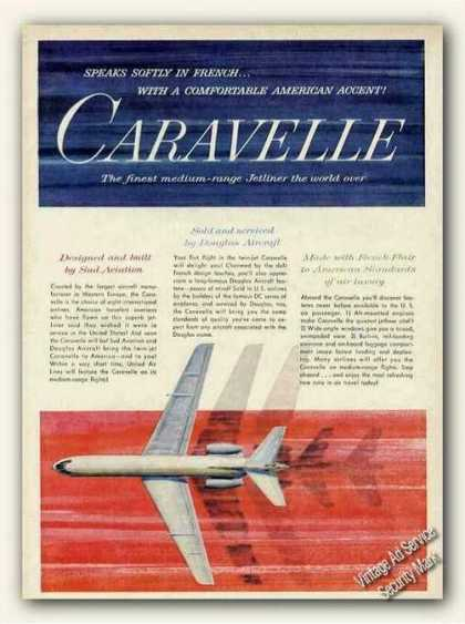"""Caravelle """"Made With French Flair"""" (1961)"""
