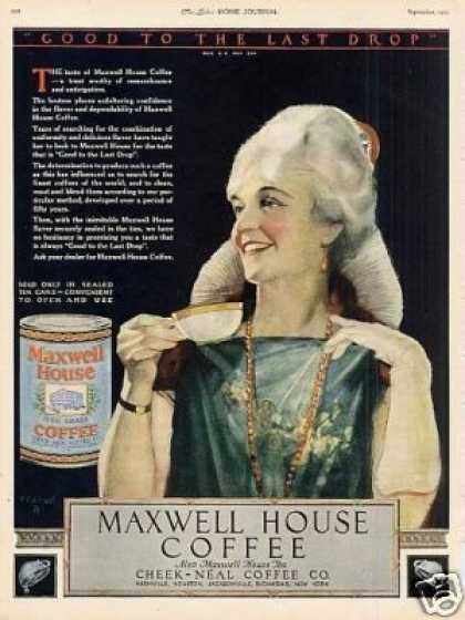 Maxwell House Coffee Color (1923)