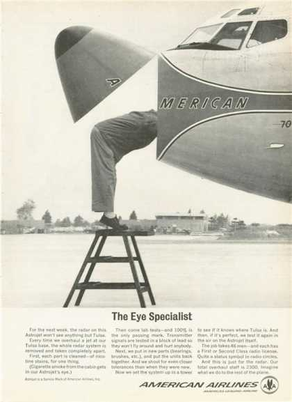 American Airlines Astrojets Plane (1963)